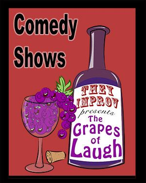 comedy shows wineries vineyards